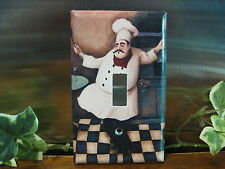 Happy Chef DANCE Light Switch Wall Plate Cover #HC02 -  Outlet Double GFI