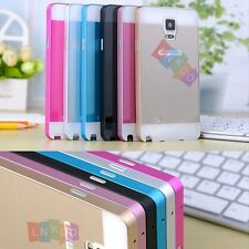 Luxury Aluminum Ultra-thin Mirror Metal Case Cover For Samsung GalaxyS4 S5 Note4