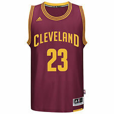 Lebron James Cleveland Cavaliers Adidas NBA Youth Swingman Jersey - Red