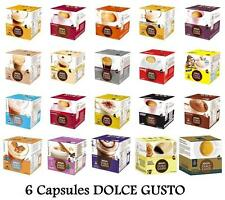 NESCAFE DOLCE GUSTO 6 CAPSULES PODS  (DIFFERENT FLAVORS)