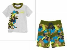 GYMBOREE DINO DAY CAMP BOYS OUTFITS  18-24 MONTHS   5T