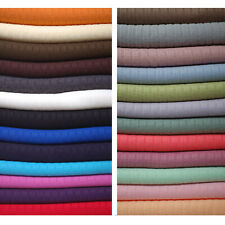 Neotrim Knitted Rib Knit Jersey Fabric Material,Dressmaking,Photography Backdrop