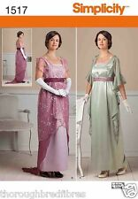 Simplicity 1517 Sewing Pattern Edwardian Dress Downton Abbey Ladies Size 6-22