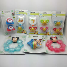 Disney Pacifiers Winnie the Pooh Baby Soothers & Soother Holder Teethers Rattle