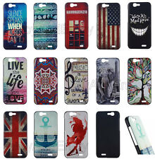 Fashional Patterned Cartoon Printed PC Hard Back Case Cover For Huawei Ascend G7