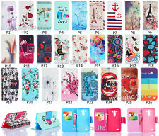 Hybrid Flip Cute Printed Magnetic Close PU Leather Stand Case Cover For Phone