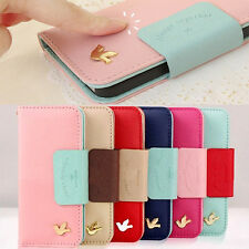 "Pu Leather Wallet Card Holder  Flip Case Cover for Apple iPhone 6 4.7"" 5S 4S 5C"