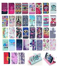 Fashion Vintage Stand Flip Wallet Leather Case Cover For HTC One M8 Desire 500