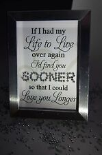 If I Had My Life Love, Sparkle Word Art Pictures, Quotes, Sayings, Home Decor