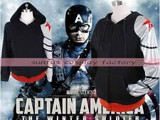 Winter Soldier Avengers CAPTAIN AMERICA  Bucky Barnes costume Jacket