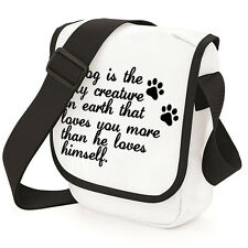 A Dog Loves You More Mini Reporter, Size Essentials/Money Bag Pet Quote TS928