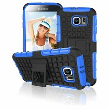 Dual Shockproof Heavy Duty Kickstand TPU PC Case Cover For Samsung Galaxy S6