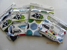 NWT Itzy Ritzy Reusable Snack Happens Travel Electronics Bag Washable Economical