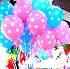 "NEW! 12"" Polka Dot Latex Beautiful Balloons For Birthday Wedding Party Wholesale"