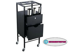 Salon SPA Massage Office Durable Multi Use Easy Roll Storage Cart Trolley
