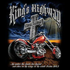 King's Highway Cross Motorcycle Chopper Biker T-Shirt Tee