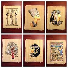 "Original Egyptian Papyrus and Painting On Papyrus, Egyptian handmade12.5""x16.5""."