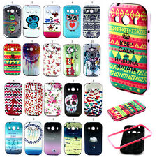 Print Rubber TPU + PC Hybrid Case Cover For Samsung Galaxy Ace 4 Style SM-G357FZ
