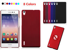 Slim Rubberized Matte Snap-On Hard Back Case Cover For Various Huawei Cell Phone