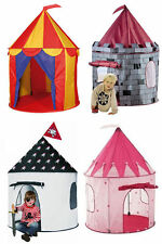 Childrens/kid Rosa Pop-up Castillo play-tent play-house Interior/exterior Garden Girl