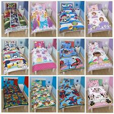Characters Cartoon Disney Single Duvet Cover Pillow McStuffins Peppa Woody Buzz