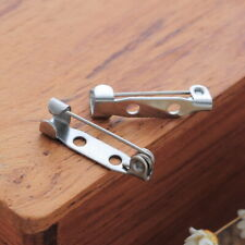 Wholesale Stainless Steel Bar Pin Brooch Back Pin Back Findings Supplies 19x5mm