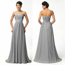 SUMMER CHEAP Long Chiffon Bridesmaid Evening Formal Party Ball Gown Prom Dresses