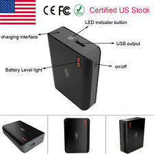 6000mAh Rechargable Portable External Battery Power Bank Charger for Cell Phone