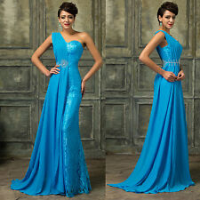 CHEAP SALE~BEADED Prom Bridesmaid Party Long Dress Formal Evening Wedding Gowns