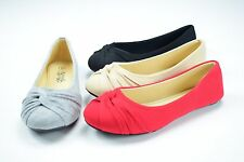 New Women Casual Comfort Slip On Round Toe Ballet Flat Shoes Womens Cute New sun