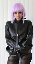 Real Cow Leather Straight Jacket Restraint Armbinder 3 colors