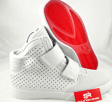 NEW! Nike FLYSTEPPER 2K3 Pure Platinum University Red Prm 677473-002 White