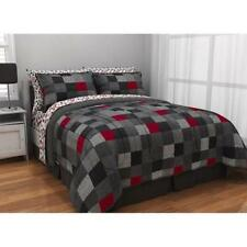 NEW Minecraft Style Geo Blocks Reversible Bed in a Bag Set Multi Size