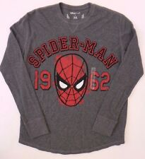 Marvel Spider-Man Men's Long Sleeve T-Shirt Plus Sizes S,M NWT