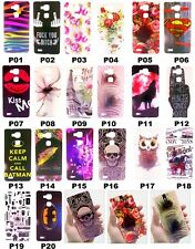 For Huawei Ascend Mate 7 Rose Flower Owl Birds Leather Love Hard PC Case Cover