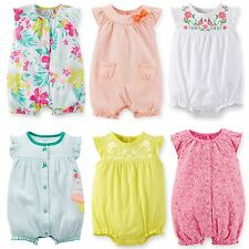 NEW Carters Baby Girl Clothes 3 Months Summer Romper Creeper