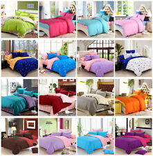 Cotton Bedding Duvet Quilt Cover Set,Single/Double/King Size Queen Comforter Set