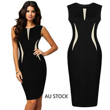 New Women Summer Stretch Bodycon Pencil Cocktail Evening Party Club Dress Skirt