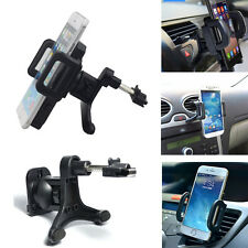 Universal Mobile Phone's 360° Rotating In Car Air Vent Mount Holder Cradle Stand