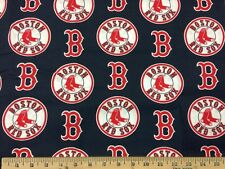 "Major League Baseball MLB 60"" Cotton Fabric by Fabric Traditions! 32 Patterns!"