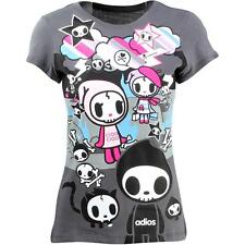 Tokidoki Women Double Hockey Sticks Tee gray storm