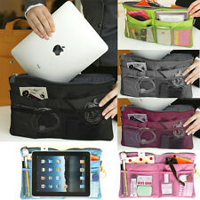 Universal Padded Zip Bag Travel Case Protector For iPad Air Mini 1/2/3/4 Tablet