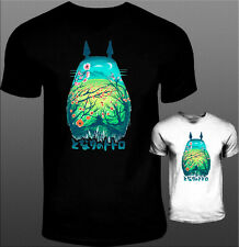 totoro t-shirt colorful miyazaki japan anime boys mens girls womens all size