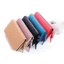 Fashionable Women Card zipper long section Wallet Clutch Girls Purse HandBag
