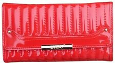 LYDC Ladies Designer Patent Quilted Wallet/Purse - Brand New