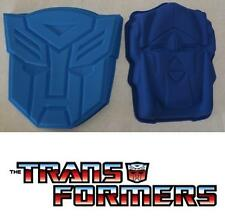 Transformers Autobot Symbol Optimus Face Silicone Cake Pan Loaf Mold Jelly Robot