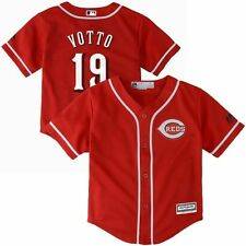 Majestic Joey Votto Cincinnati Reds Toddler Red 2015 Cool Base Player Jersey