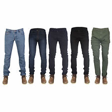 Men's Slim/Skinny Stretch Fit Cotton Denim Jeans - Variety of Colours Available