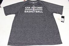 San Antonio Spurs TEE SHIRT CLIMALITE 100% POLYESTER SIZE S M L XL 2XL NWT NEW
