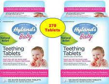 Hyland's Hylands Baby Teething Quick Dissolving Tablets Natural Fast Pain Relief